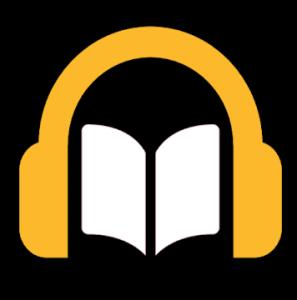 無料オーディオブックのロゴ