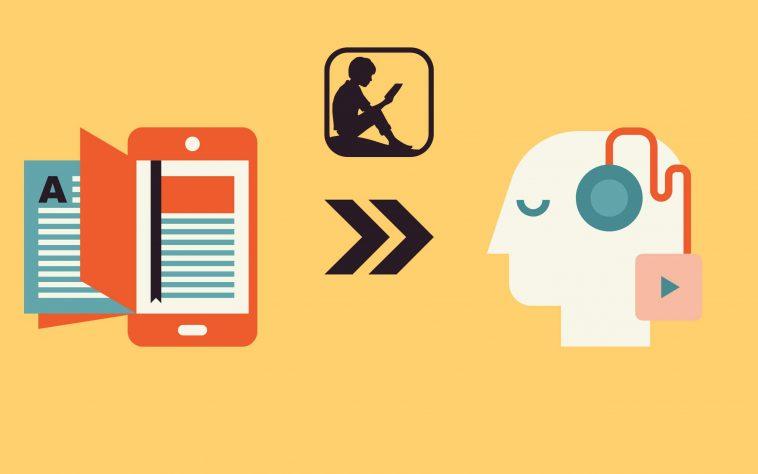スマホとPCで可能!Kindleを読み上げてオーディオブック化する方法