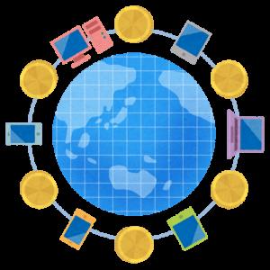 仮想通貨とインターネット