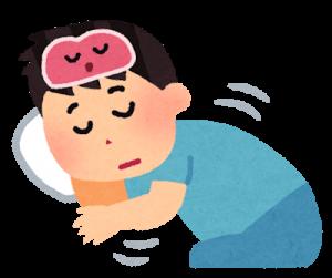良質な睡眠をとる人