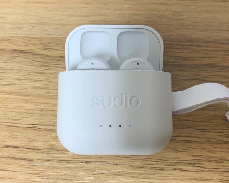 充電中のSudio ETT